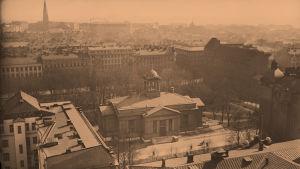 Vanha kirkko Helsingissä 1935
