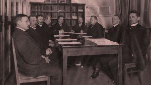 Työväenlehtien toimitus 1915