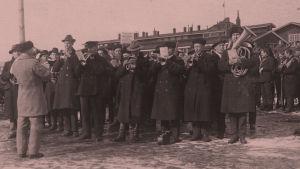 Punakaartin soittokunta 1918