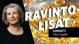 Toimittaja Tiina Lundell