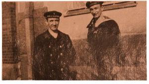 Kaksi saksalaista merimiestä.