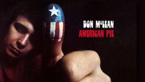 Don McLean levynsä American Pie kansikuvassa