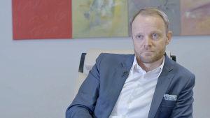 Teri Heilala, vd för FIM-banken