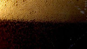 Olutta, kuplia