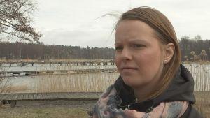 Karolina Örnmark från Västra nylands vatten och miljö r.f.
