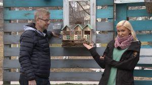 Juha Hietanen ja Sanna Savikko
