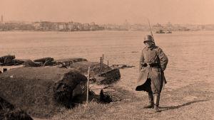 Suomenlinnan vankileiri 1918.