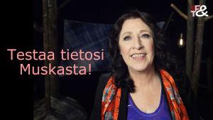 Muska Babitzin tv-ohjelmassa Flinkkilä & Tastula.