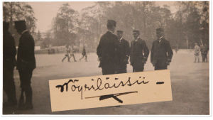Vöyrin kurssilaisia 1918.