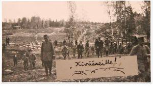 Vöyrin kurssi Helsingissä 1918.