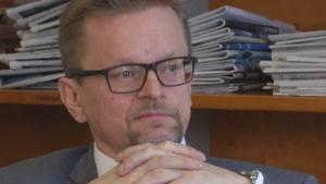Timo Rothovius, ordförande för Aktiespararnas Centralförbund