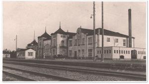 Rajajoen asema 1920-luvulla.