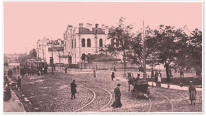 Pietarin Suomen asema 1910-luvulla.