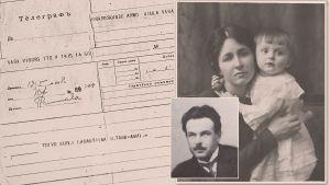 Alma ja Sinikka Kuula 1919.