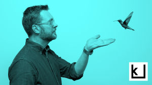 Sami Syrjämäki ja kolibri