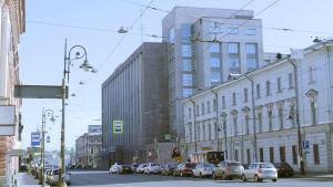 Bolsoi Dom, vuonna 1932 valmistunut Suuri Talo rakennettiin OGPU-NKVD:n toimitaloksi.