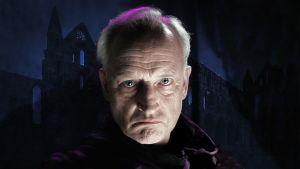 Kuvituskuva kuunnelmaan Dracula, näyttelijä Aarre Karén.