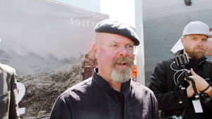 Jamie Hyneman i Villmanstrand i juni 2017.