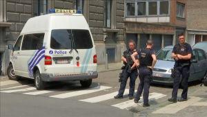 Polispådrag efter dödsskjutning i Liège i Belgien.