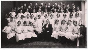 Vaasan työväen sekakuoro Oras 1927.