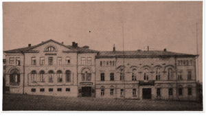 Viipurin Seurahuone ja Raatihuone 1925.