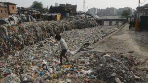 Slum i Indien