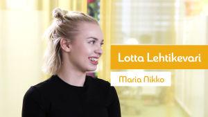 Kuvassa Lotta Lehtikevari.