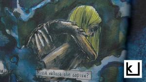 Viivi Rintanen tekee Hulluussarjakuvia