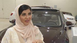 Saudisk kvinna