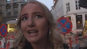 Ester i Köpenhamn berättar att danska unga super mycket