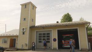 Bobäck FBK:s byggnad i Kyrkslätt