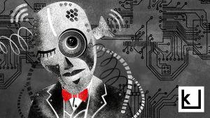tyylitelty robotti, Ihmisen paras ystävä - katsaus robottien elämään / radiosarjan nettikuvitusta