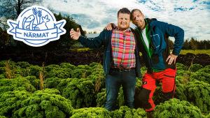 Michael Björklund och Matias Jungar från Närmat