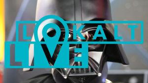 Darth Vaders huvud.