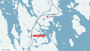 Karta över Kuopio.