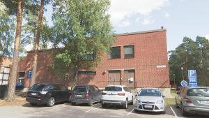 Broadbits kontor och verkstad i Otnäs i Esbo.