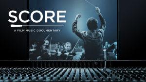 Mainoskuva dokumenttielokuvasta Score.