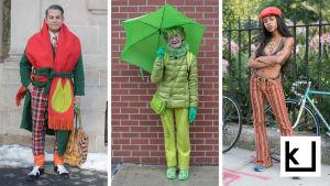 Ihmisiä New Yorkissa