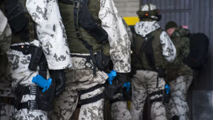 Kuvassa puolustusjoukoista.