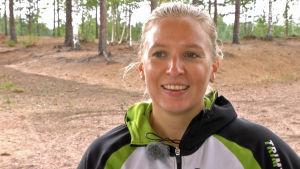 Moderna femkamparen Saskia Halminen.