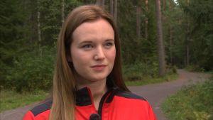 Vasa Sports back Johanna Hänninen