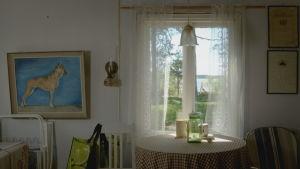 Fönster och utsikt på Eva Hietanens villa