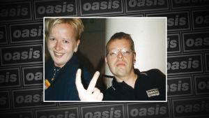 kaksi Oasis-fania