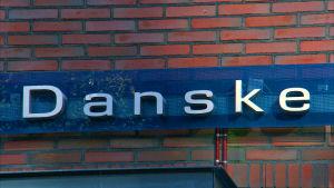 Danske Banks logo.