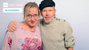 Olga Ketonen ja J. Karjalainen.