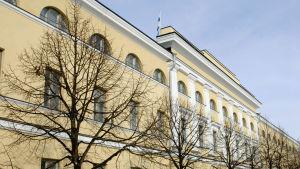 Utrikesministeriet byggnad på Skatudden i Helsingfors