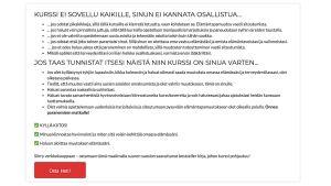 Kuvakaappaus sivustolta hyvinvoinninsiivet.fi
