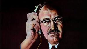 Gene Hackman elokuvan Keskustelu (The Conversation) mainosjulisteessa