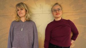 Sonja Ahlfors ja Piia Peltonen