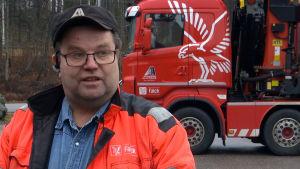 Porträttbild på Ulf Österman.